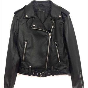 Zara XS leather jacket (never worn)